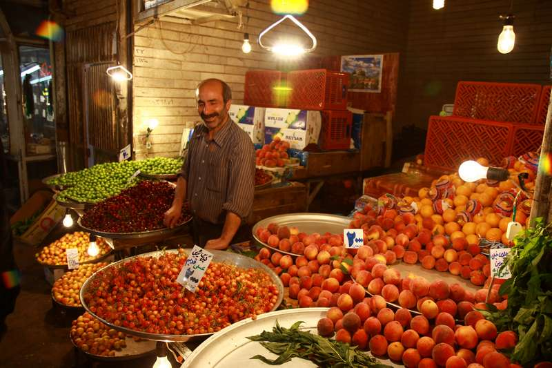 Market in Tabriz