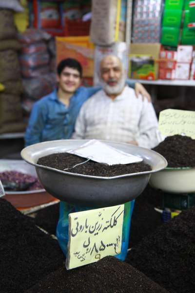 Tea, glorious tea, the one and only drink of Iran