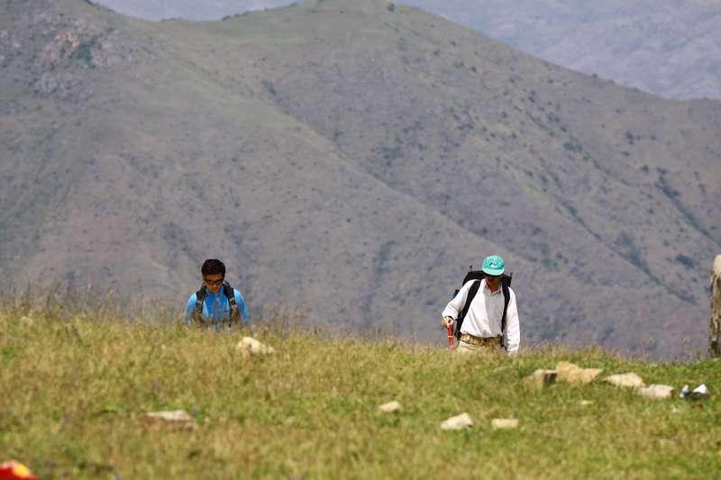 Iranian mountain climbers