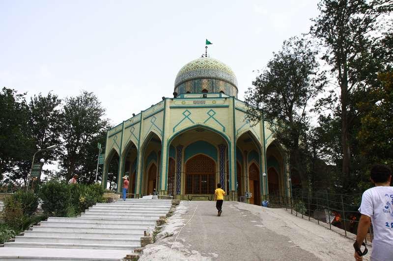 Shrine on the road from Rasht to Manjil