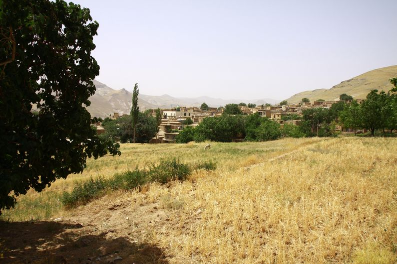 Mountain village near Qasvin.
