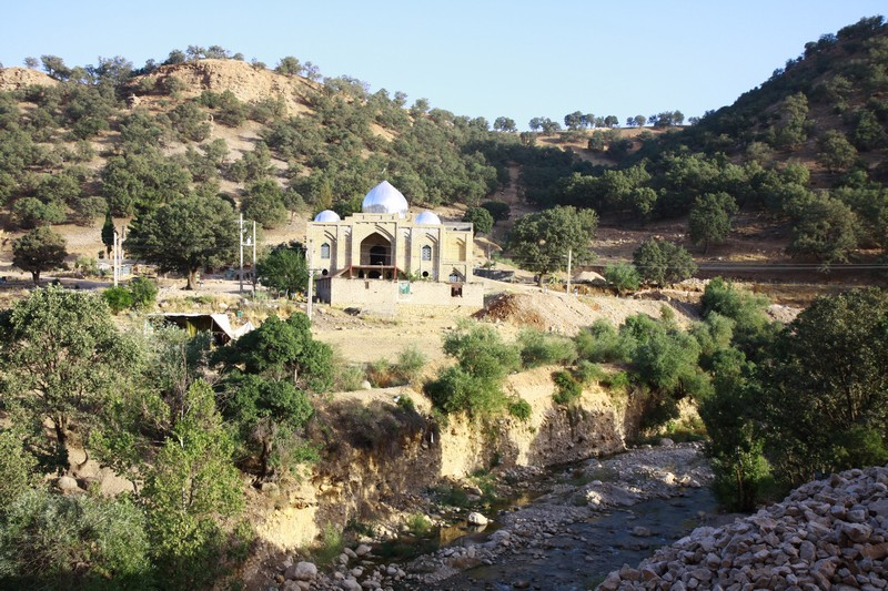 A roadside mosque.