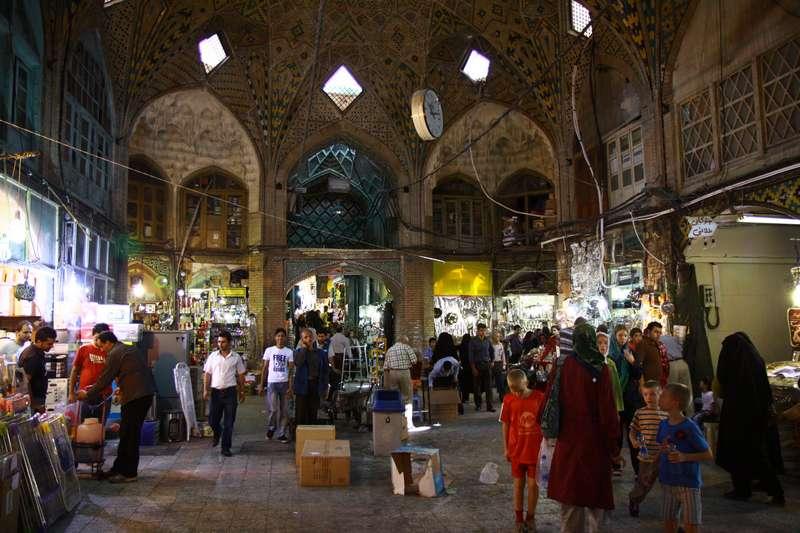 Market in Tehran, Iran
