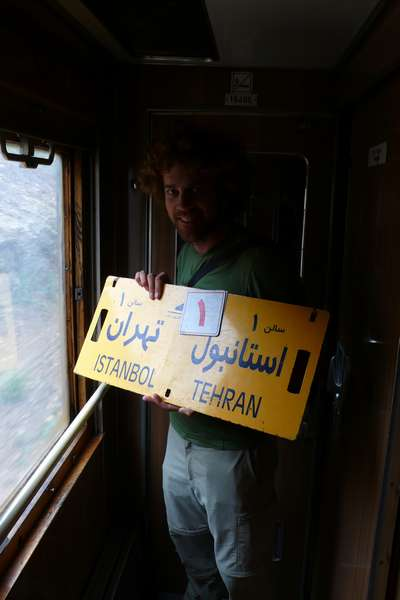 On the train to Iran