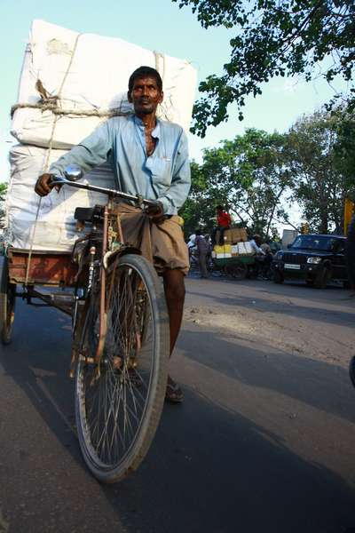 Local transport, Delhi, India