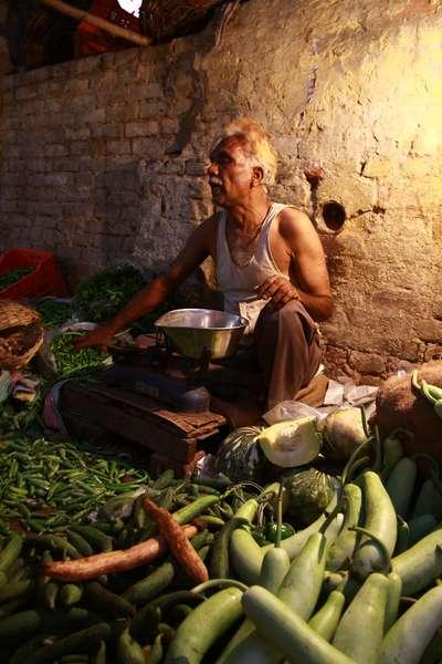 Market in Delhi