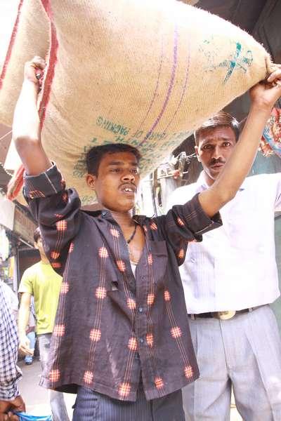 Spice market in Delhi