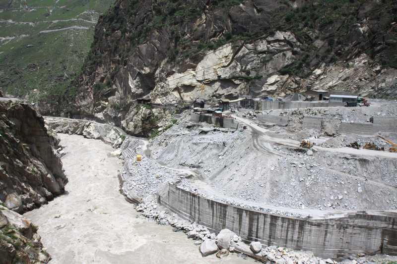 Construction of a 1000 MW hydro power plant. Construction stretched for 390 kms.