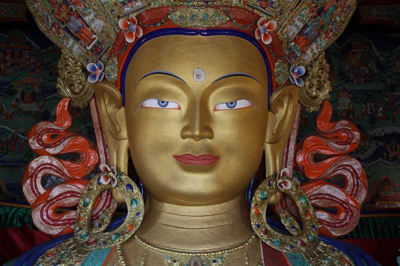 Buddha at Tikse Monastery