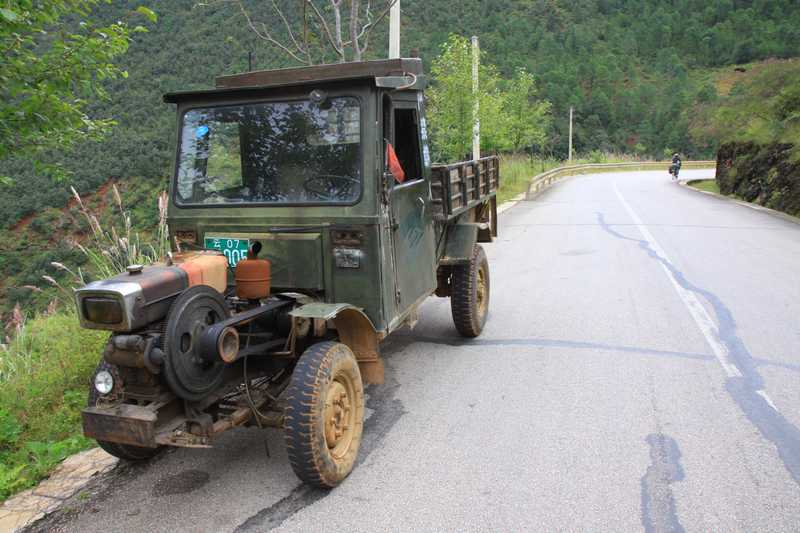 The typical workhorse of the farmers in China.