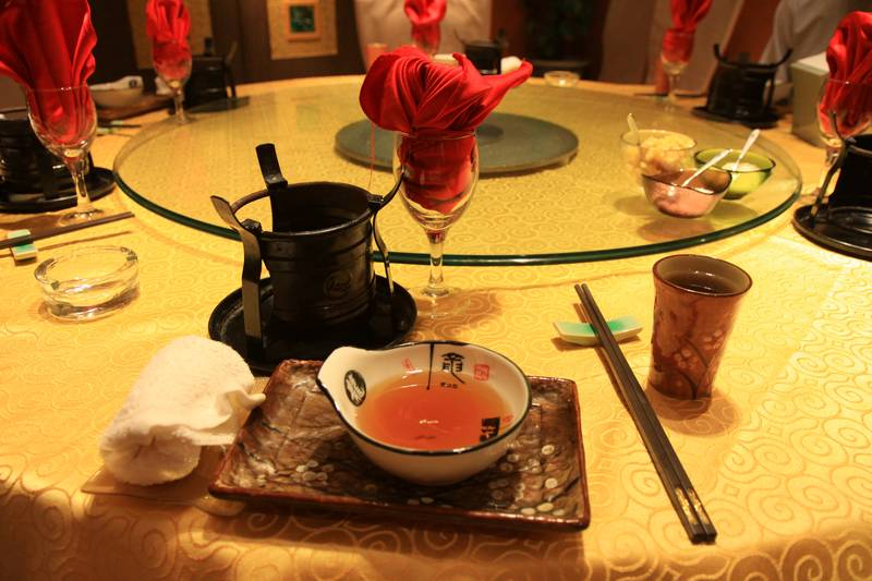 Chongqing hotpot, a spicy favourite of this city.