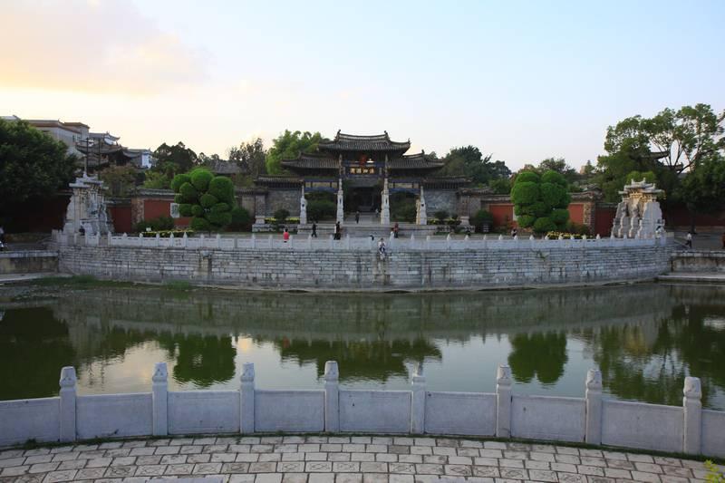 Confucious temple in Juanshuie