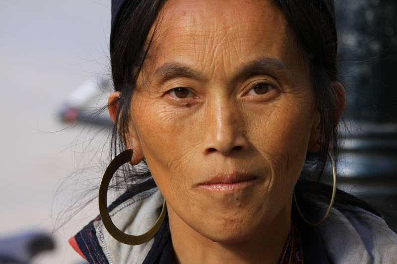 Local woman in Sapa