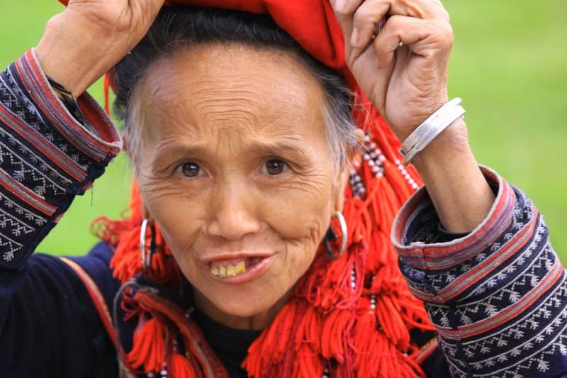 Craftswoman in Sapa