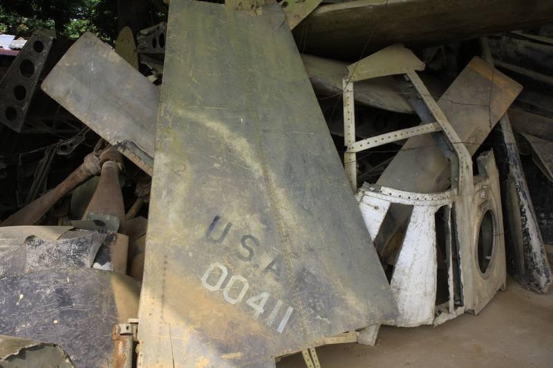 Ceashed US war planes.