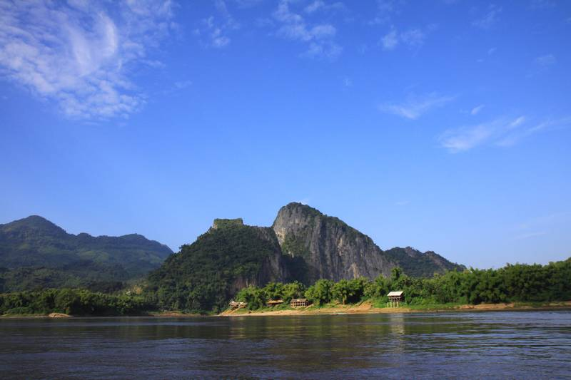 Arriving at the Mekong