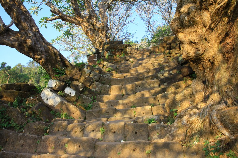 A 1000 year old stairway.