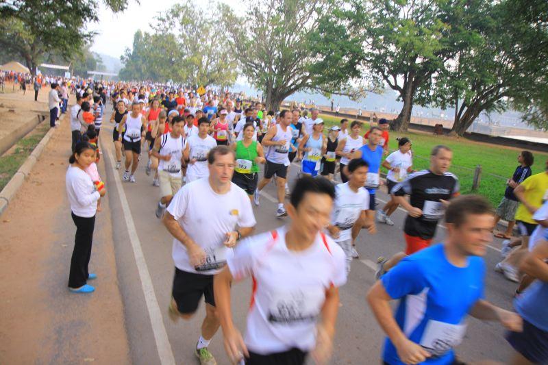 The Ankor Wat half marathon