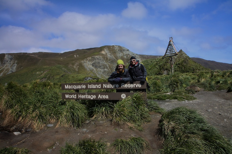Welcome to Macquarie Island.