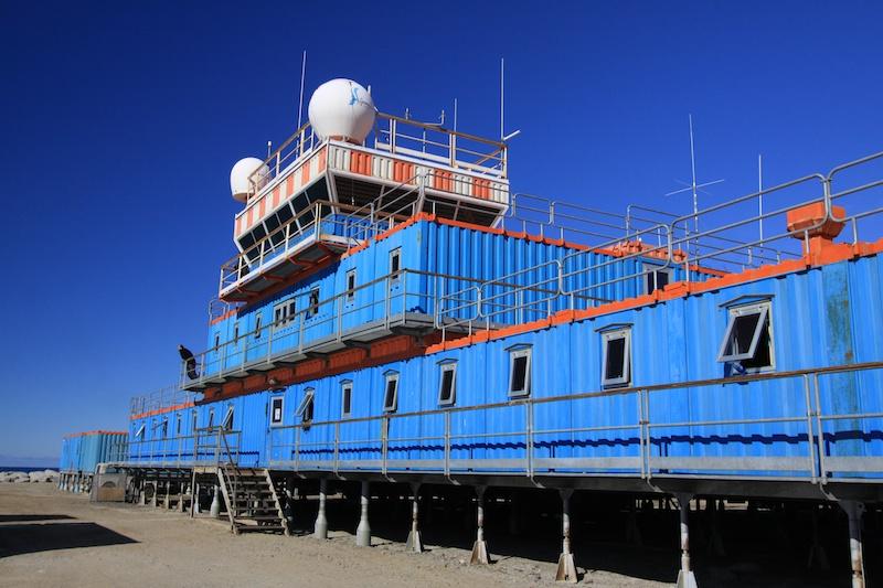 Terra Nova Base.