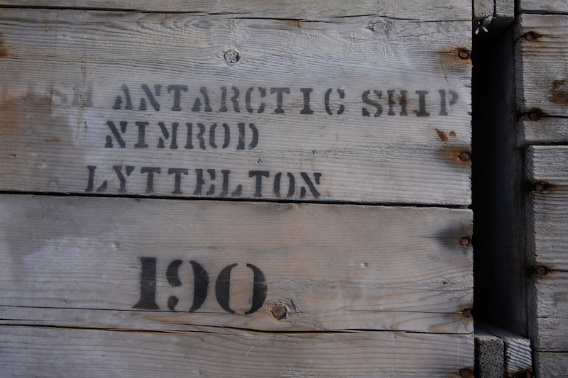 Supplies from Shackleton's Nimrod expedition.