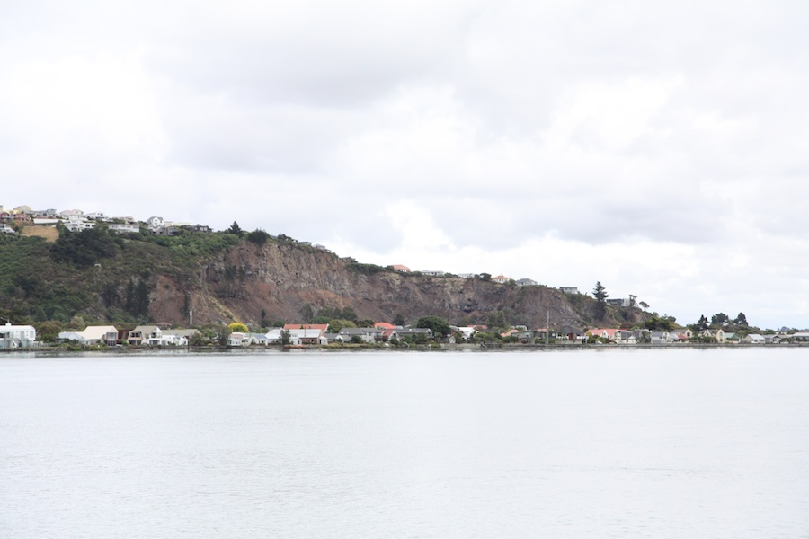 Redcliffs, major parts of the cliffs collapsed.