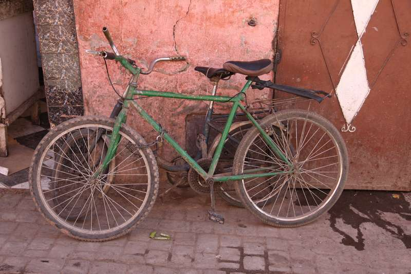 Bikes of Morocco, they are everywhere!