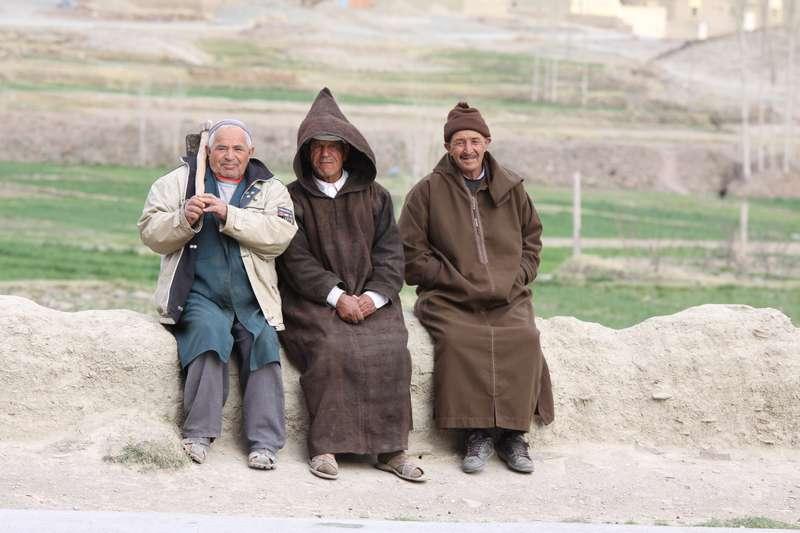 Locals in Imilchil