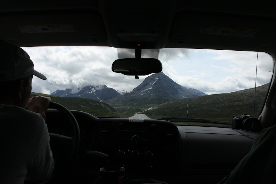 Driving to Haines, Alaska