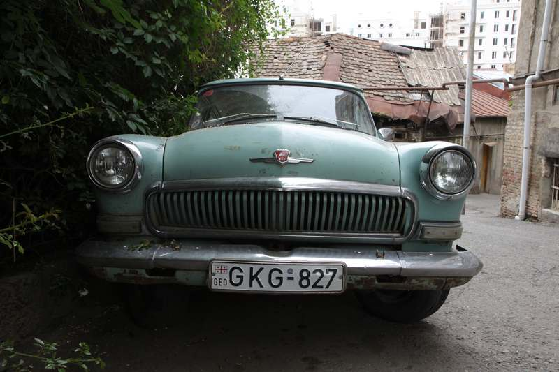 Old Russian cars, actually not nearly as common as I had imagined.