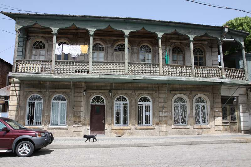 The Jewish quarter in Kutaisi