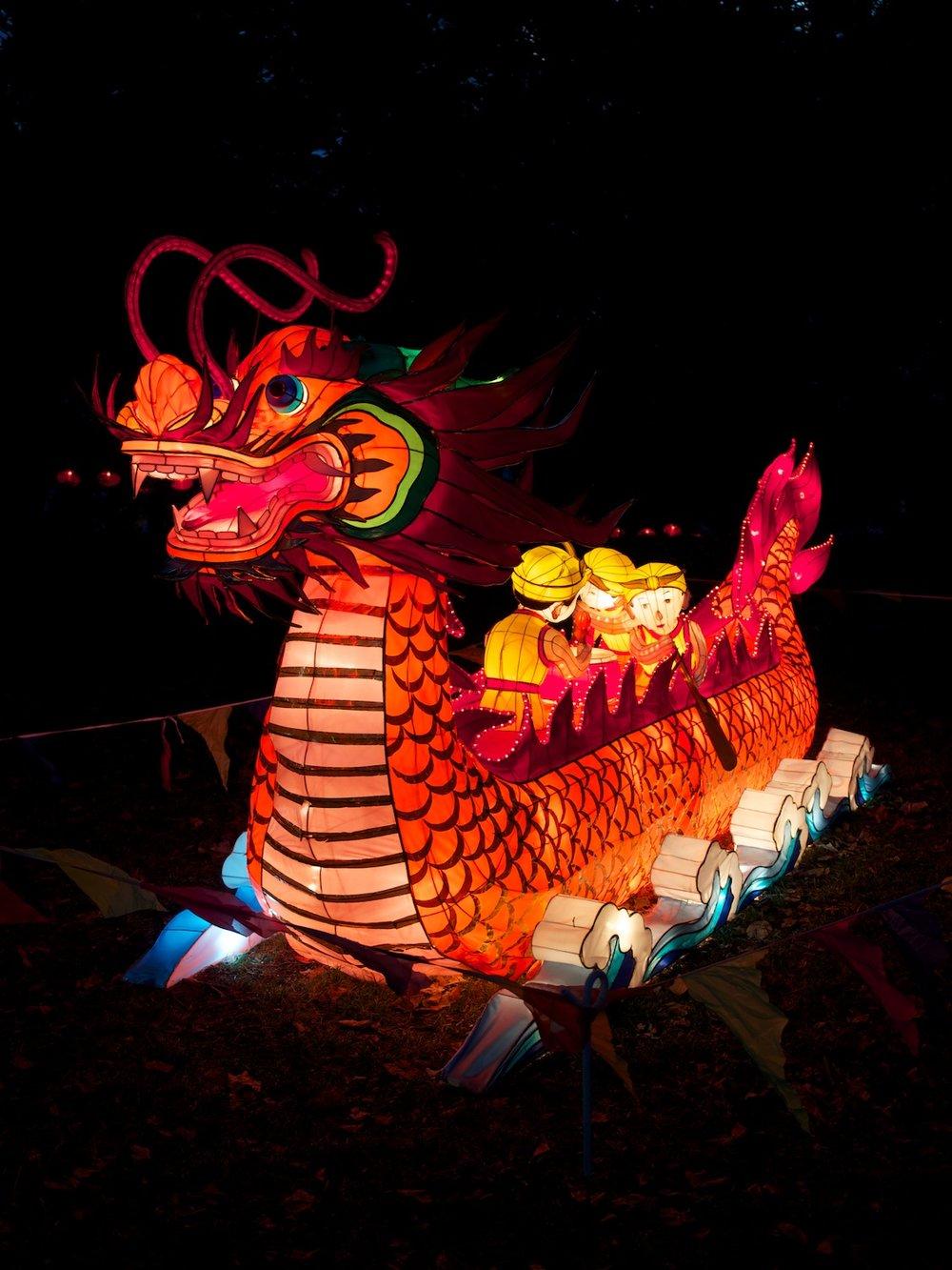 Lantern festival, Auckland