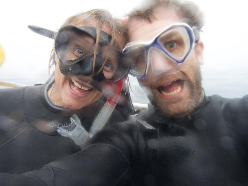 Diving, Rarotonga