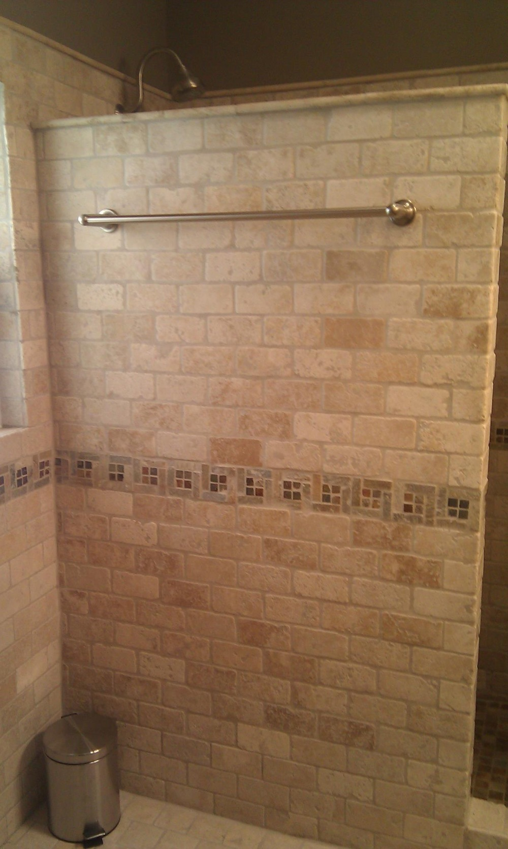 Travertine Subway Tile