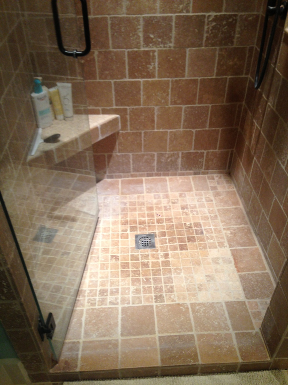 Travertine for the kitchen or bath home improvement for Hardwood floors knoxville