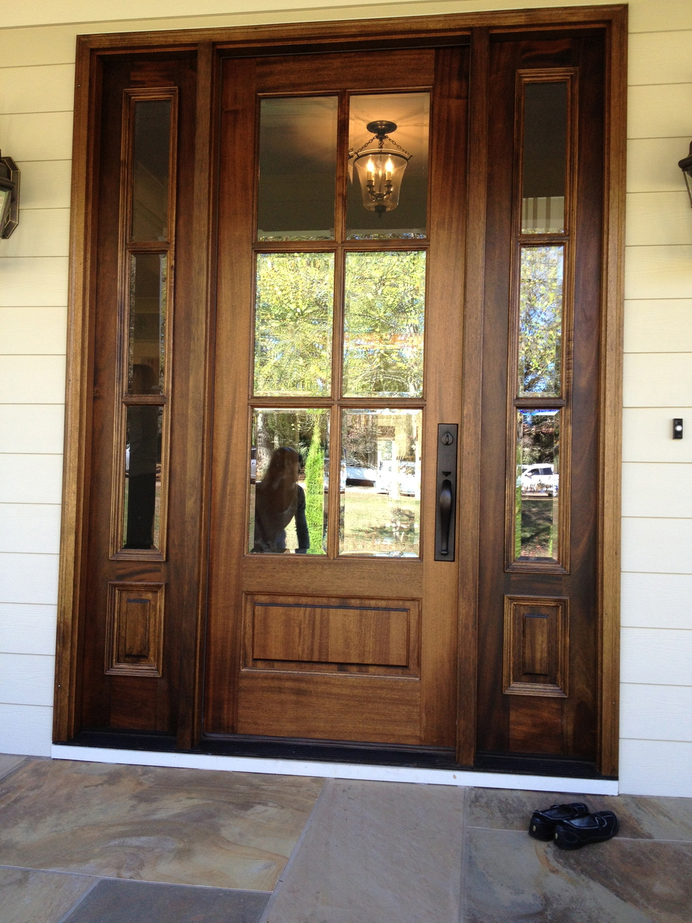 6 lite Brazilian Walnut Entrance Door.jpg