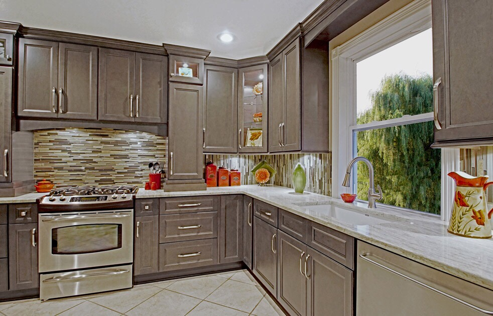 Grey And White Kitchen Cabinet Gallery
