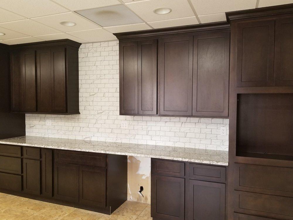 Shaker Carver cabinets