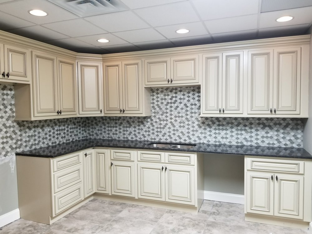 Heritage White Cabinets
