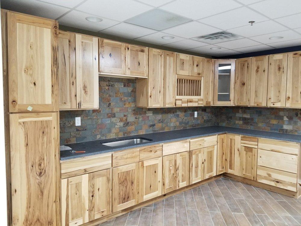 Natural Hickory Cabinets