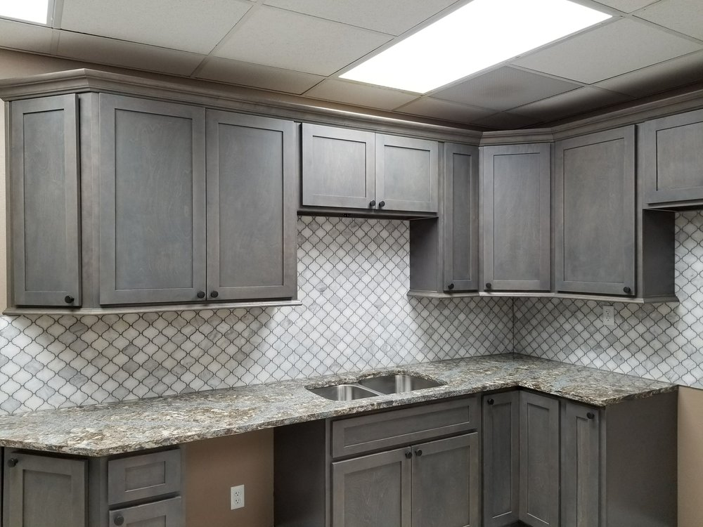 Storm Grey Cabinets