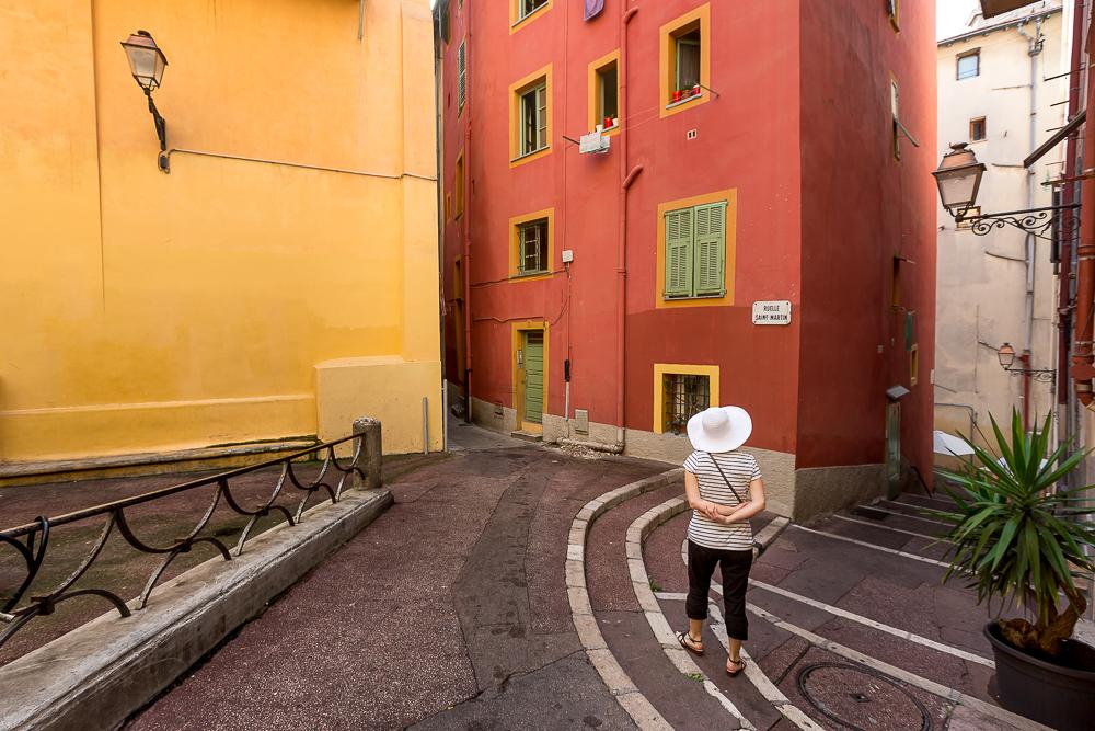 Ruelle de la vieille ville. Nice. © Sébastien Borda