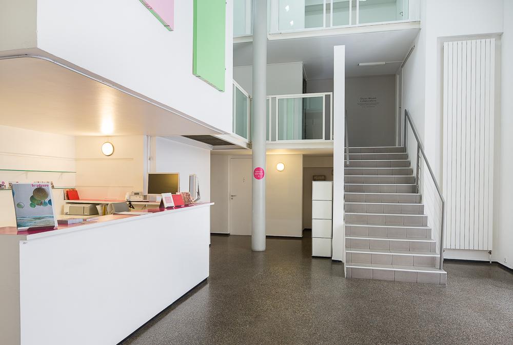 Espace accueil du centre culturel Suisse. © Sébastien Borda