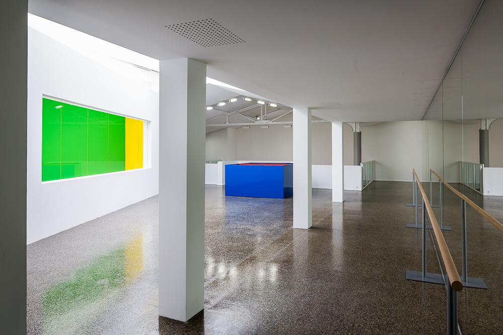 Salle d'exposition du centre culturel Suisse. © Sébastien Borda