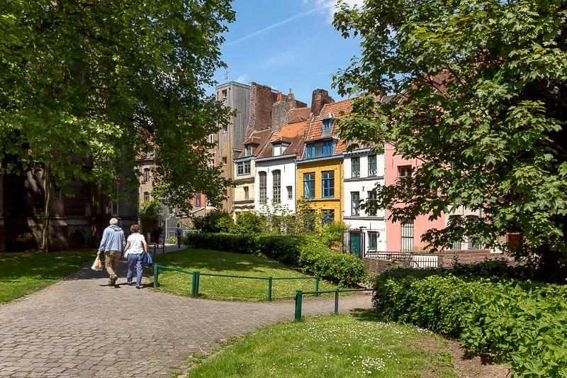 Passage de la Treille dans le vieux Lille. © Sébastien Borda
