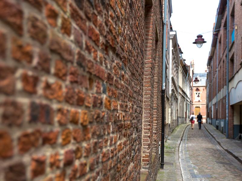 Ruelle du quartier du Vieux Lille. © Sébastien Borda
