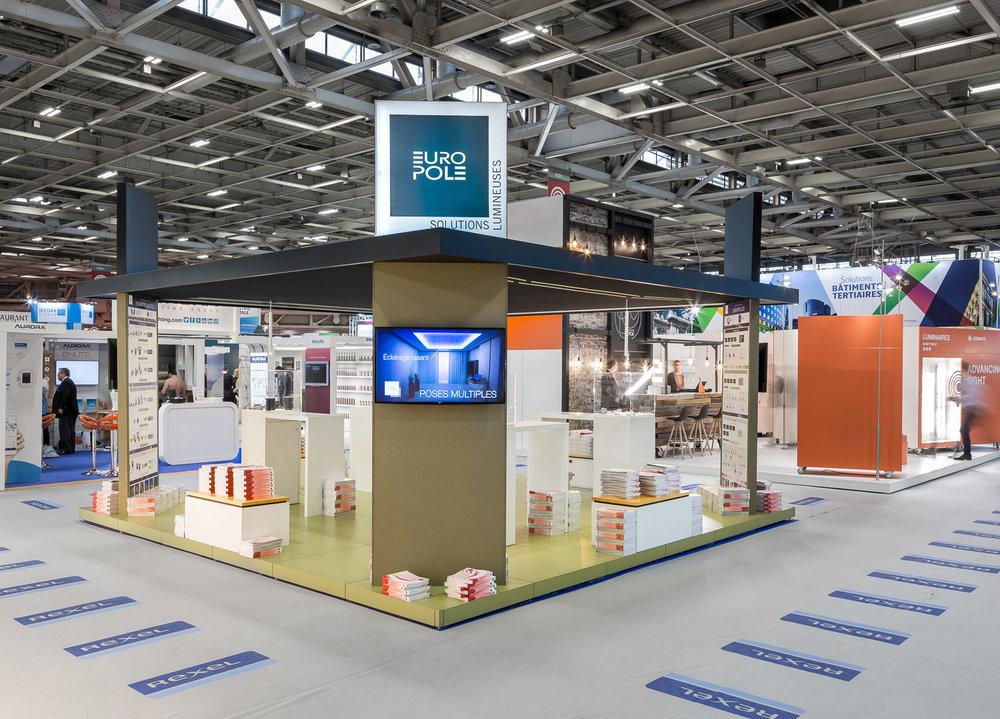 Salon Rexel Expo 2017 Stand Europole