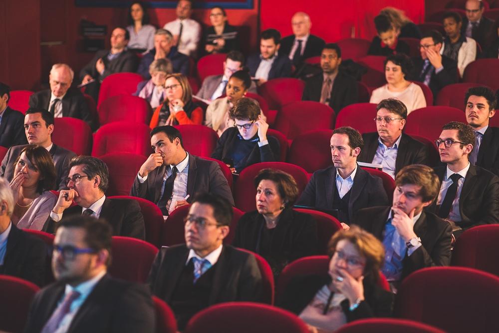 Public convié à un événement d'entreprise à Paris. © Sébastien Borda | www.sebastienborda.com