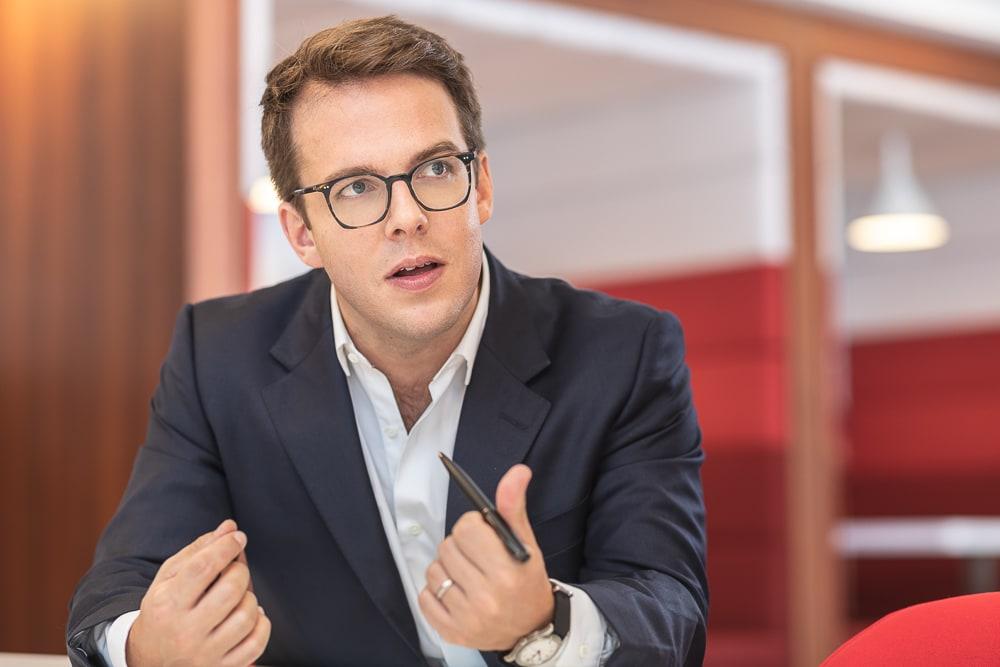 Exemple de portrait corporate  en situation . © Sébastien Borda I www.sebastienborda.com