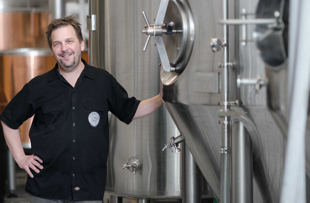 Head Brewer & Co-Owner Brian Confer